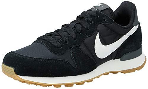 Nike Damen WMNS Internationalist 828407-021 Laufschuhe, Schwarz (Black/Summit White/Anthracite/Sail 021), 38 EU