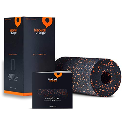 Blackroll Orange Faszienrolle, Standard, mittlere Härte
