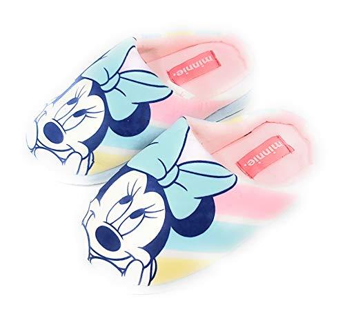 Zapatillas Minnie Mouse de Estar por Casa Niñas - Zapatillas Disney Minnie Mouse Pantuflas Slippers (Numeric_30)