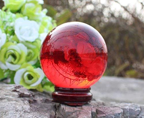 Dr. Bob's Magic Shop - Bob Doggett Contact Juggling Ball (Acrylic, Ruby Red, 76mm) - Trick