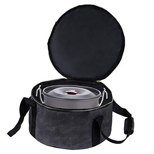 URMAGIC WaterProof Dutch Oven Tote Bag,14 Inch BBQ Grill Box Carry Bag with...