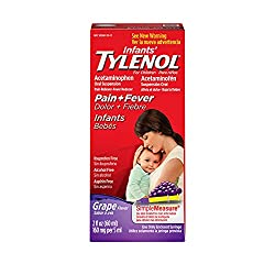Infant Tylenol for reducing fevers.