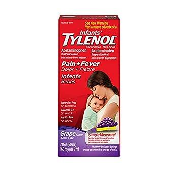 infants tylenol dosage