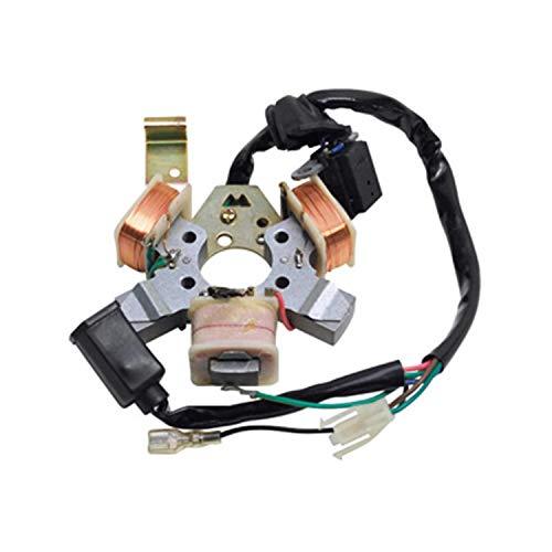 Stator Allumage Adaptable PEUGEOT 103 Electronique 6V Avec Capteur (Sans Platine)