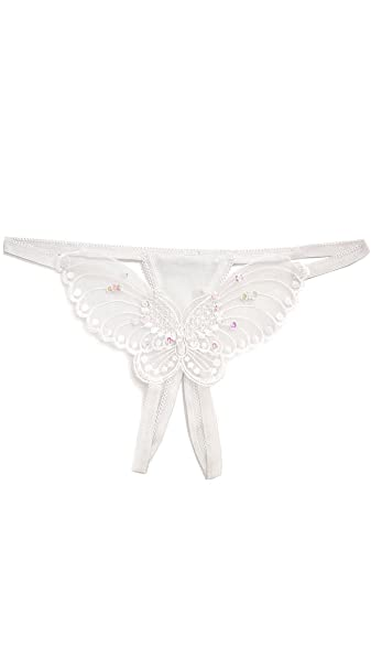 Plus Size Butterfly Crotchless Panty Leg Avenue 2600Q