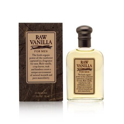 Raw Vanilla By Coty For Men. Cologne Splash 1.7 Oz / 50 Ml
