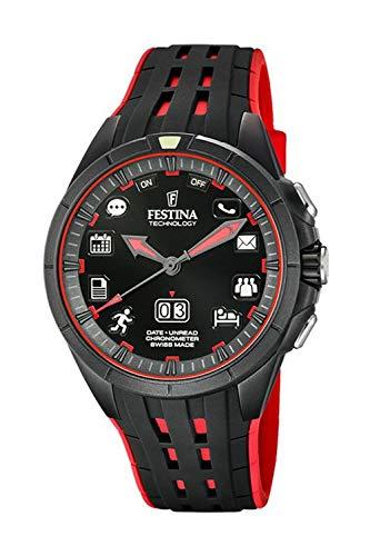 Festina Technology - Reloj para Hombre Bluetooth Color Negro
