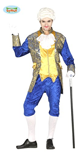 Fiesta Guirca Déguisement De Marquis Bleu- Homme Taille : L