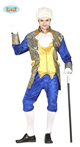 GRAF Kostüm im Barock Stil Karneval Fasching edel Lord für Herren Gr. M - XL, Größe:XL
