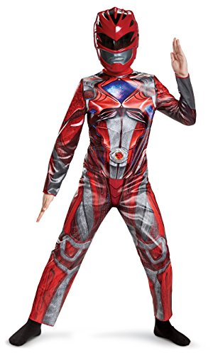 Disguise Red Power Rangers Costume for Kids. Official Licensed Power...