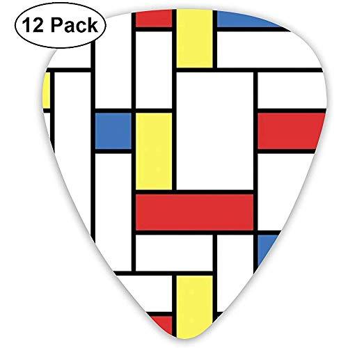 Cascanueces Ballet Red Med 12 Pack Púas de guitarra acústica personalizadas para...