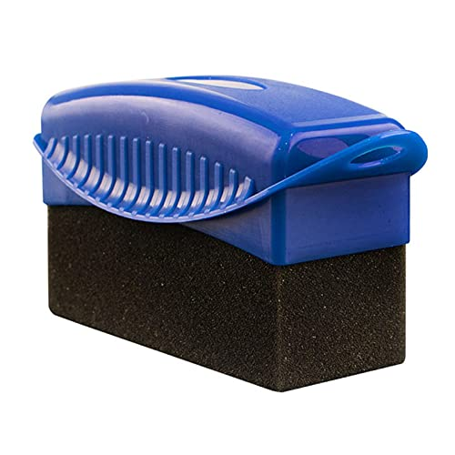 Su-xuri - Almohadillas aplicadoras para neumáticos con cubierta, esponjas de pulido para neumáticos para neumáticos, esponja, esponja para coches, motos, bicicletas y caravanas (12 x 5,5 x 7 cm)