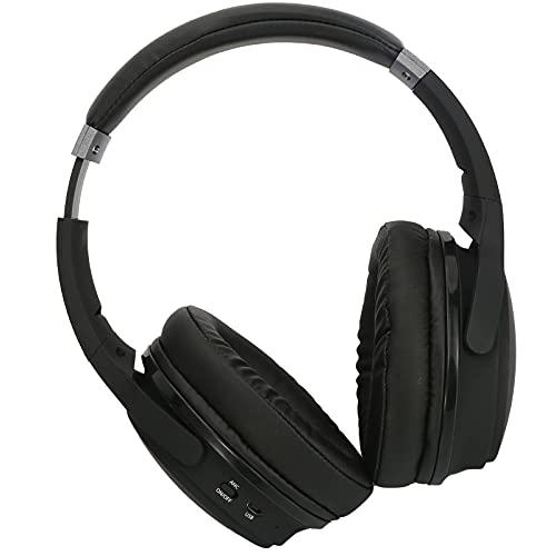 Esenlong Auriculares inalámbricos con cancelación de ruido para llamadas de música BT5. 0 Auriculares inalámbricos plegables con micrófono incorporado para computadora portátil teléfono móvil