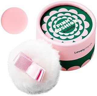 [THEFACESHOP] Lovely Meex Pastel Cushion Blusher 04, Long Lasting & Moisturizing Pink Cushion - 10g