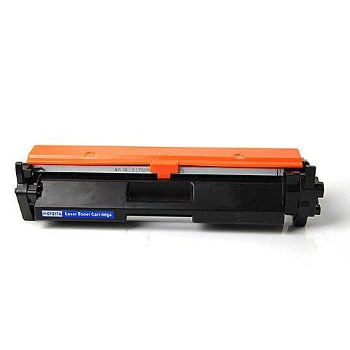 ZOOMTEC 17A CF217A (con Chip) Cartucho De Tóner Negro Compatible para HP Laserjet Pro M102w M102a MFP M130nw MFP M130fw MFP M130fn MFP M130a Impresora(1 Negro)