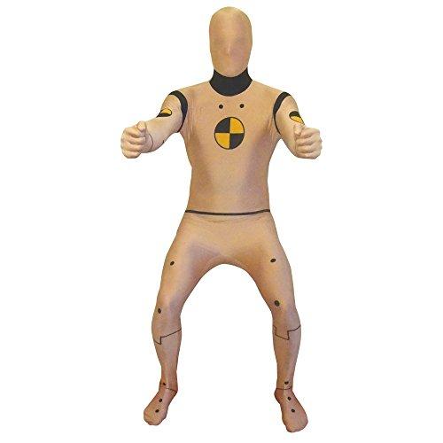 Morphsuits - Crash Test Dummy Pour Hauteur 186-210 Cm - Taille Xxl