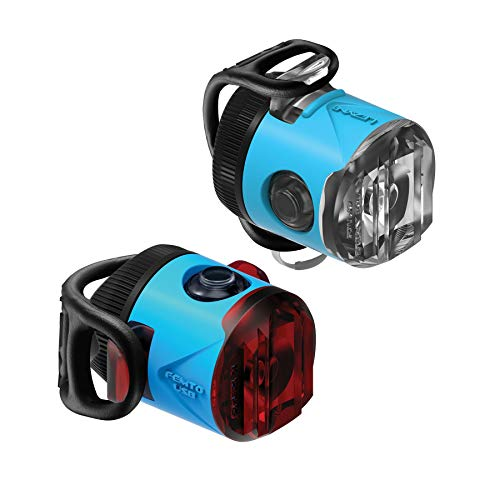 LEZYNE Femto USB Drive Headlight and Taillight Set Blue