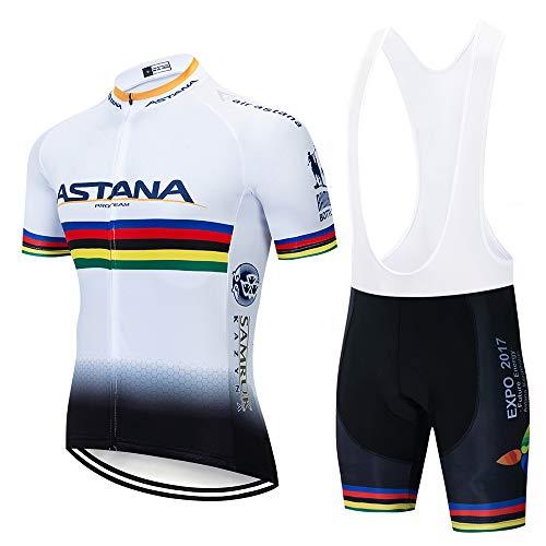 Traje Ciclismo Hombre Equipos Culotte Maillot 5D Gel