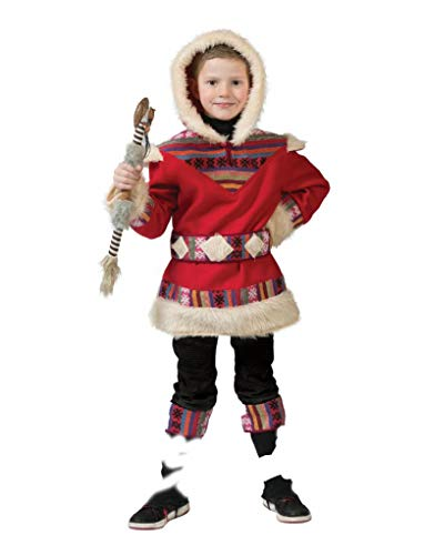 Generique - Disfraz de esquimn para nio - 12 - 14 aos (152 cm)