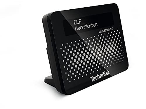 CABLESTAR 100 Digitalradio Adapter (für unverschlüsselte digitale Radioprogramme via Kabelnetz) schwarz