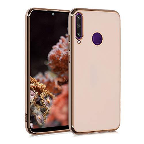 kwmobile Hülle kompatibel mit Huawei Y6p - Hülle Handy - Handyhülle Rosegold