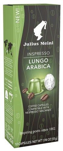 10x Julius Meinl - Inspresso Lungo Arabica 6-55g