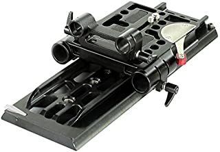 CAMTREE 19-15mm Camera Base Plate with Dovetail Tripod Plate (ARRi Standard) (CH-DTPQ)