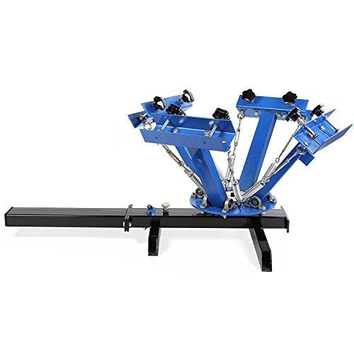 4 Color 1 Estación Máquina de Impresión Pantalla Presión la Camiseta good