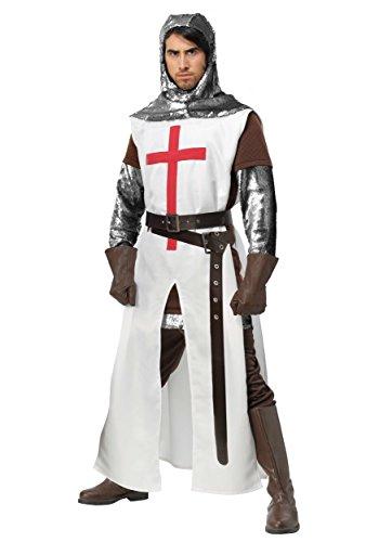 Men's Crusader Costume X-Large White