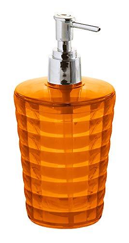 Gedy GL80-67 - Dosificador de  Jabon, Naranja