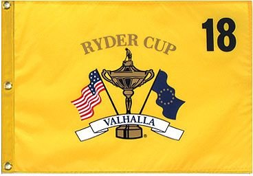 Buy Cheap 2008 Ryder Cup Pin Flag Valhalla
