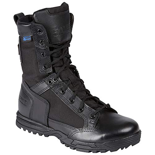5.11 Tactical Skyweight Waterproof Side Zip Boot,Black,7.5 W
