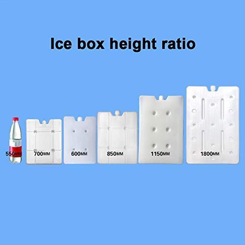 Kühlakkus Für Kühler Kühler Gefrierpacks Freezpack, Gefrierbeutel Tragbar Langlebige Coolpackung Wiederverwendbare Gekühlte Eisbeutel Schlank Leicht Frischhaltung Für Lunch Bags Und Cooler Bags