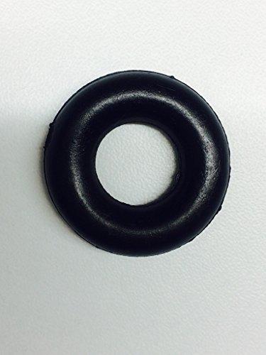 Bobina para máquina de coser antiguas, bobinado color negro, anillo de goma...