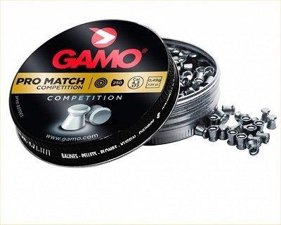 Gamo Bolas Pro Match 4,5 para carabina de aire comprimido