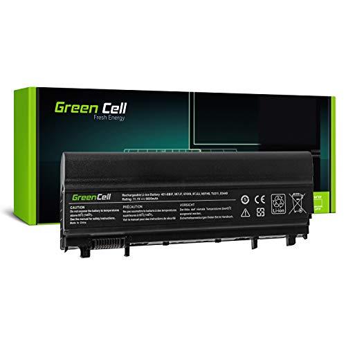 Green Cell Extended Serie N5YH9 VV0NF Laptop Akku für Dell Latitude E5440 E5540 (9 Zellen 6600mAh 11.1V Schwarz)