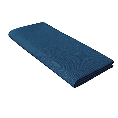 Treb Horecalinnen, Tableclothes Couleur Collection Nappe, Bleu Marine, 132 x 230 cm