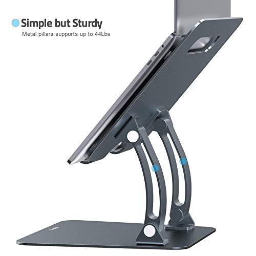 Notebook Ständer, Laptopständer, Demontierbar Mit Belüftung, Tragbarer Notebook Ständer Kompatibel Mit Laptop (10 Inch~17inch) MacBook Pro/air, Huawei Matebook