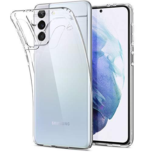 Spigen Cover Liquid Crystal Compatibile con Samsung Galaxy S21 Plus - Crystal Clear