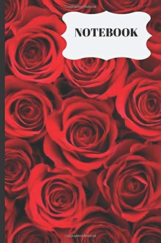 ドラフトマラドロイト酸度Notebook: Floral decoration flowers  Writing 120 pages Notebook Journal -  Small Lined  (6