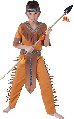 Rubies - Disfraz de indio Sioux, para niños, talla S (S8424-S)