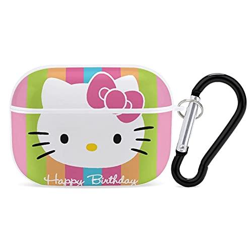Hello Kitty Apple Airpods PRO - Funda protectora para Airpods Pro (3 a prueba de golpes, para mujeres, hombres, accesorios para Apple Airpods PRO