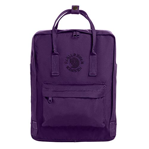 FJÄLLRÄVEN Unisex-Adult Re-Kånken Luggage- Messenger Bag, Deep Violet, 38 cm