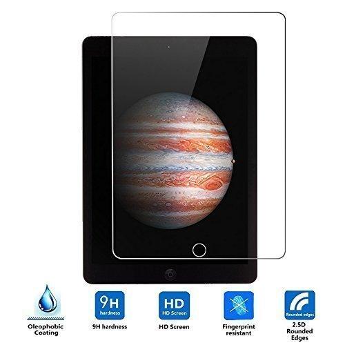 Apple iPad Pro 12.9 Cristal Templado Protector,Vikoo 9H 0.33mm Ultra Delgado Shatterproof Pantalla de Vidrio Templado Flim Tempered Glass Screen Protector para Tablet Apple iPad Pro 12.9