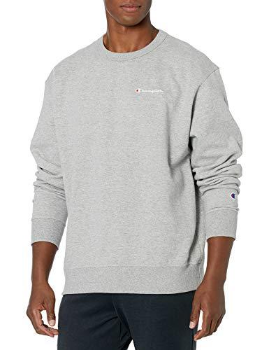 Champion Herren Powerblend Sweatshirt, Oxford-Grau, Small