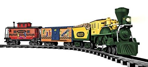 Lionel Trains Crayola G-Gauge Freight Set