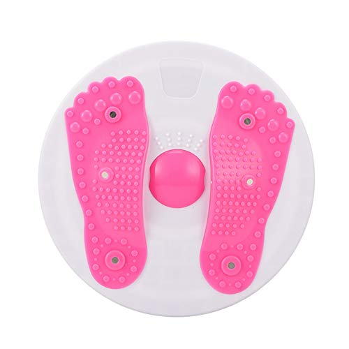Mengdie Twisting the Waist Plate 27.5cm Rotatable Fitness Disc in Place Sport Slimming Device Tummy Twister para el hogar Oficina