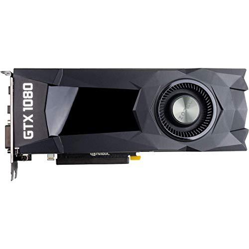 ZOTAC GeForce GTX 1080 8GB GDDR5X Blower Style SLI DirectX 12 VR Ready Graphics Card (ZT-P10800D-10B) Bulk Packaging OEM No Retail Box (Renewed)