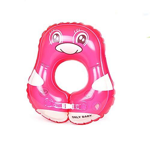 Baby-aufblasbarer Schwimmen-Schwimmen-Sitz-Schwimmen-Ring, justierbarer Schwimmenring des Kindes, passen 3 Monate-3 Jahre,powderpenguin