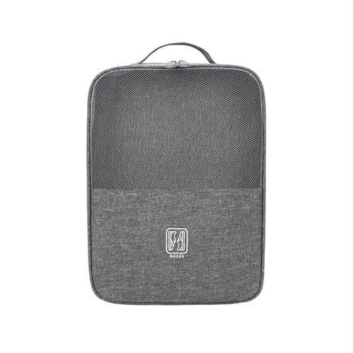 Almacenamiento de viaje, compañero de viaje, bolsa de zapatos de viaje portátil con capacidad para 3 pares de zapatos, bolsa de zapatos